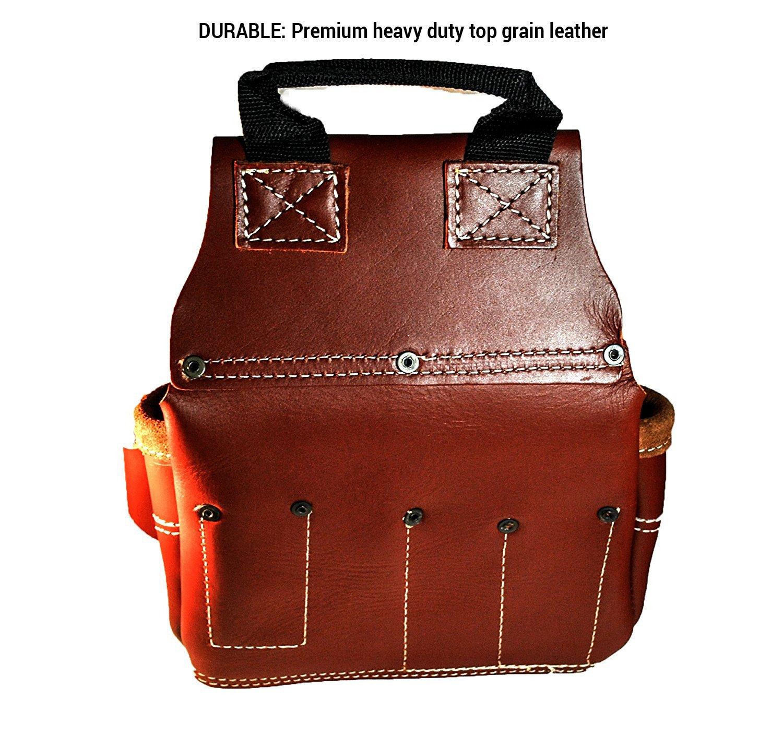 CLC Custom Leathercraft 21448 15 Pocket, 4 Piece Pro Framers Combo System Tool Belt