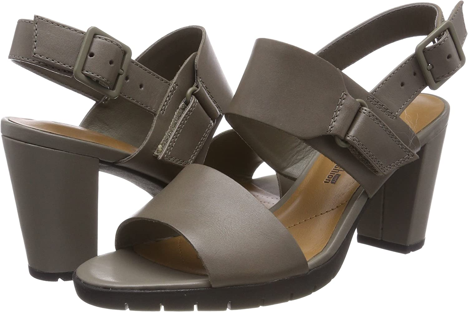 Clarks Damen Kurtley Shine Slingback Sandalen