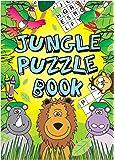 12 MINI Fun KIDS Jungle ACTIVITY BOOK