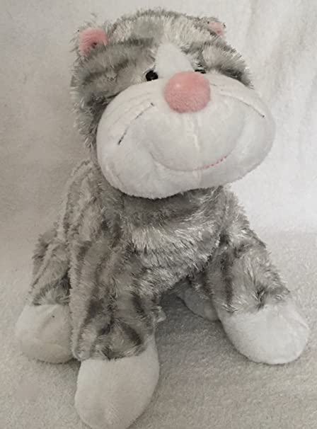 Webkinz Plush Stuffed Animal Sterling Cheeky Cat
