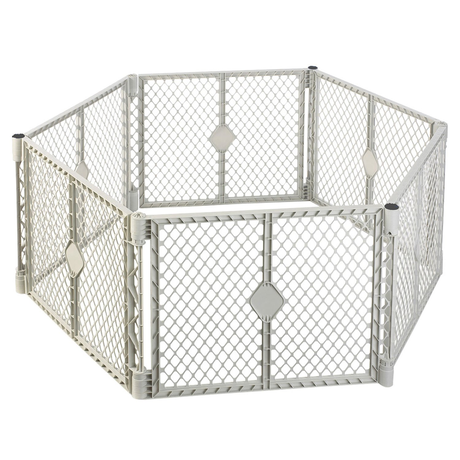 North States SUPERYARD XT Baby/Pet Gate & Play Yard by North States (Image #1)
