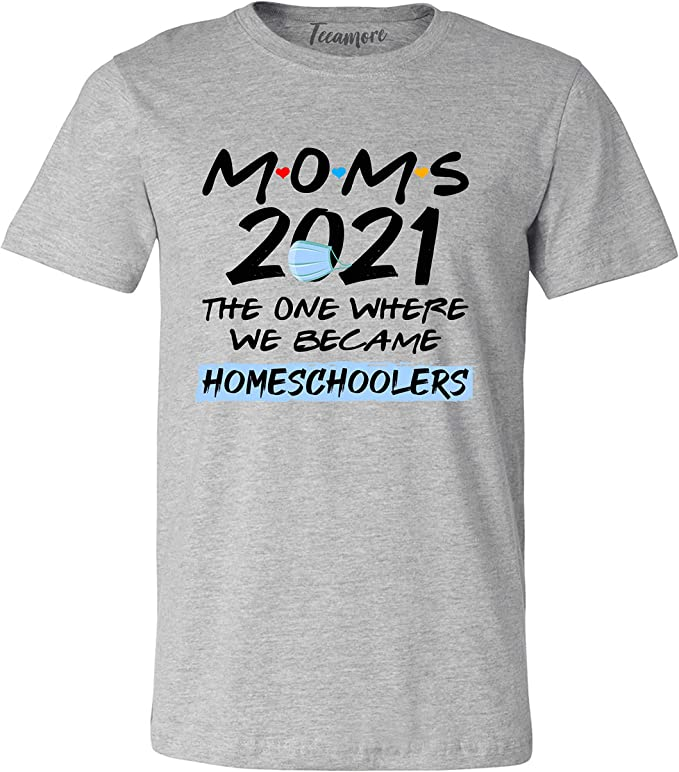Blessed stressed and homeschool obsessed women/'s t shirt tee funny sarcastic 2020 quarantine elearning home school