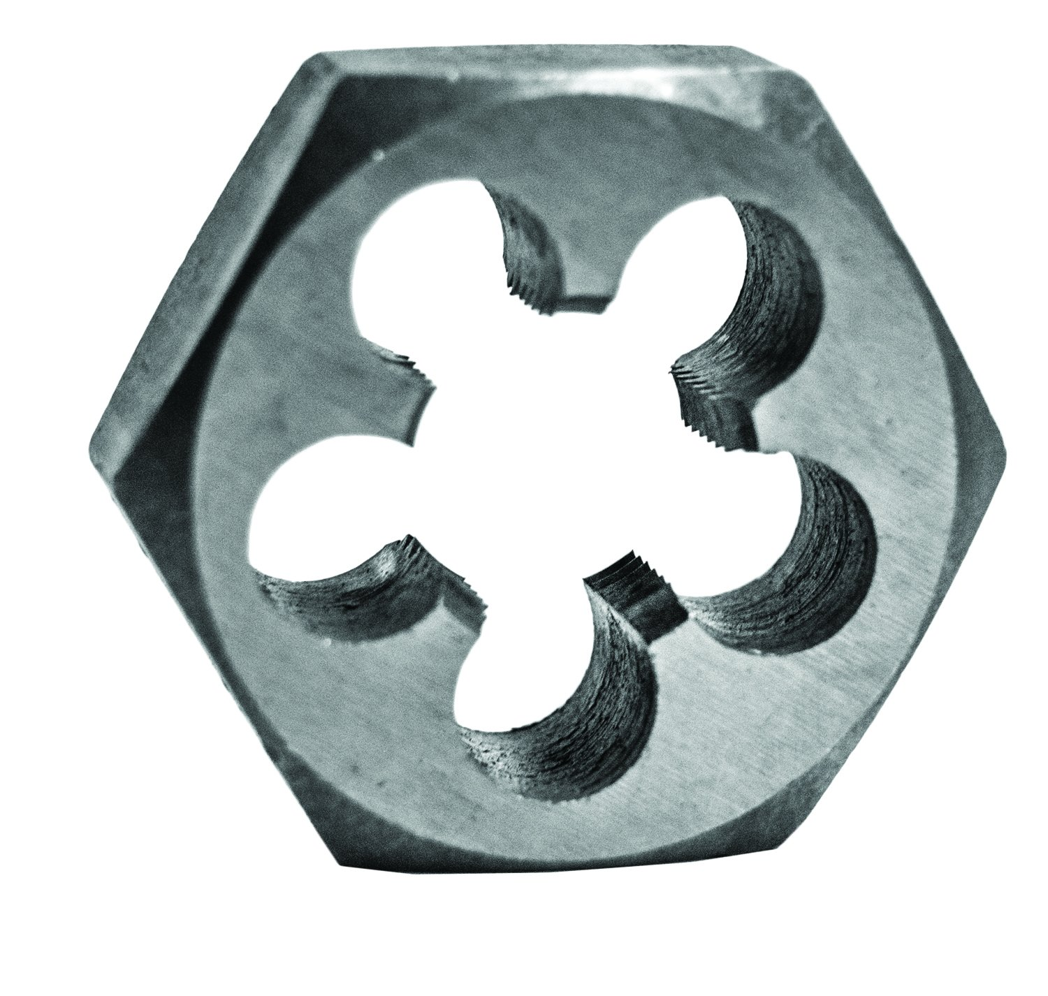 Century Drill & Tool 98218 High Carbon Steel Fractional Hexagon Die, 7/8-14 NF