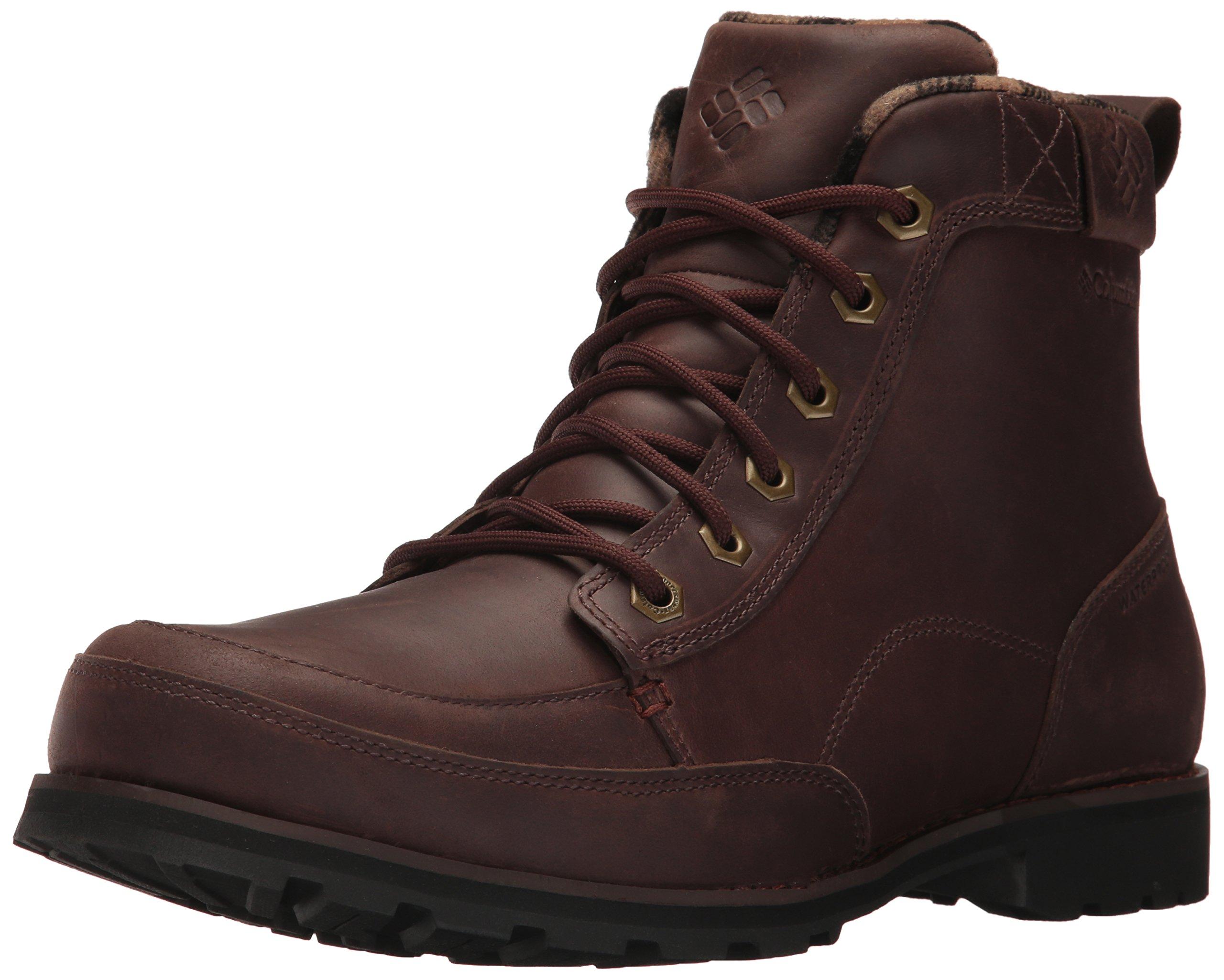 Columbia Men's Chinook Boot Waterproof Uniform Dress Shoe, Tobacco, Cinnamon, 8 D US by Columbia