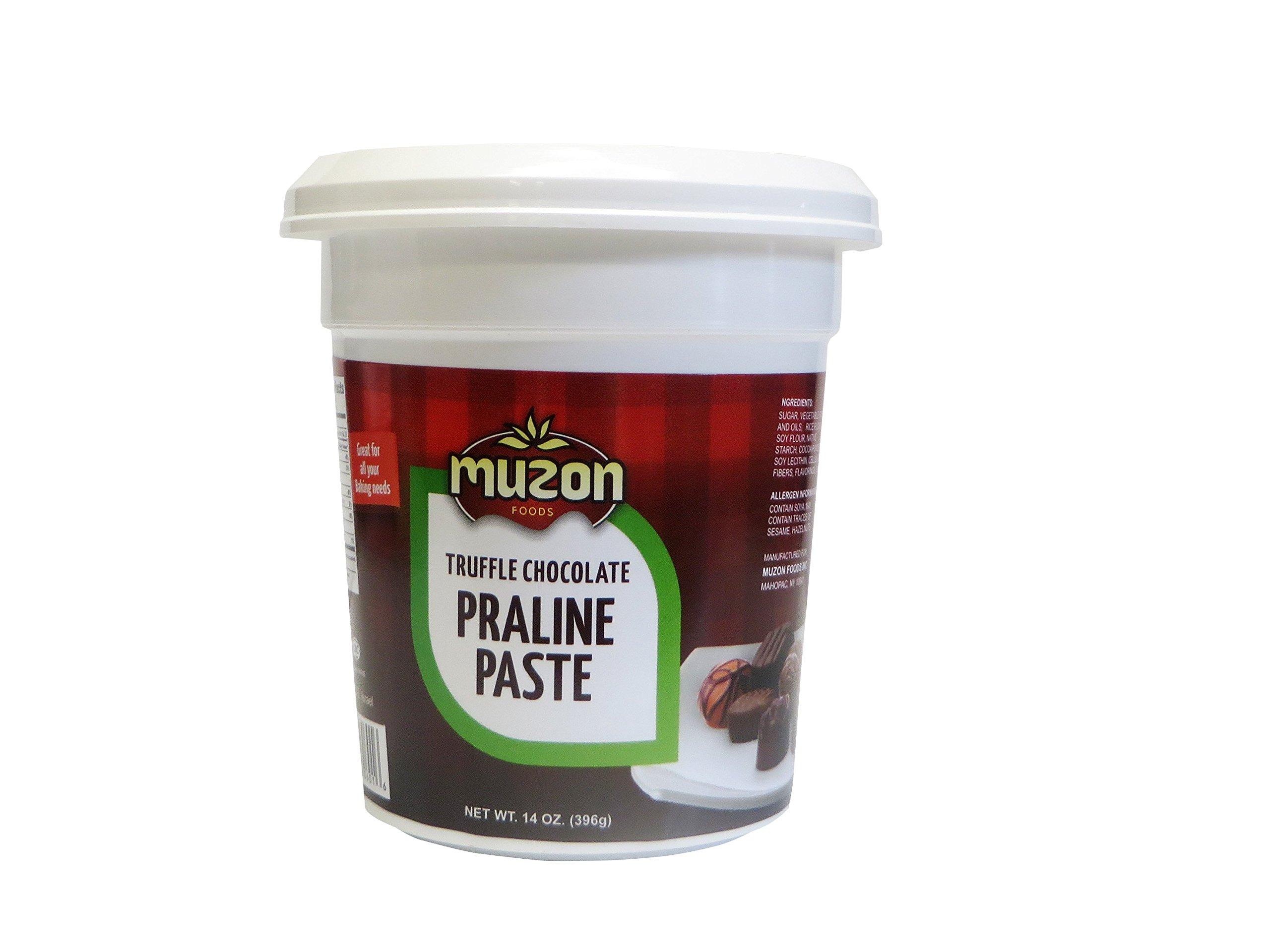 Hazelnut Praline, Truffle Choclate Praline Paste, 14 Oz