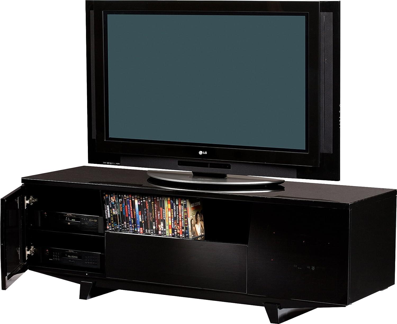 Amazon.com: BDI Marina 8729 2 Triple Wide Entertainment Cabinet, Gloss  Black: Home U0026 Kitchen