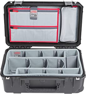 SKB Cases iSeries 3i-2011-7 Case with Think Tank Photo Dividers, Black (3i-2011-7DL)