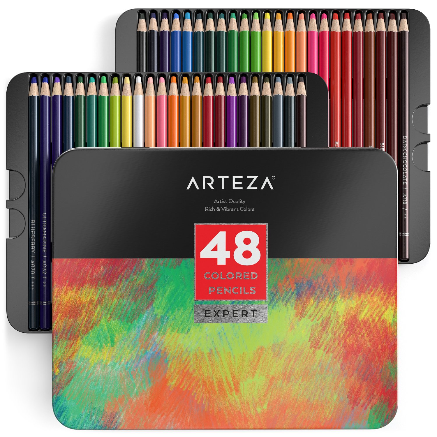 Arteza Professional Colored Pencils (Set of 48)