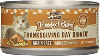 product image for Merrick Pet Care 295028 24/3 oz Purrfect Bistro Thanksgiving Dinner