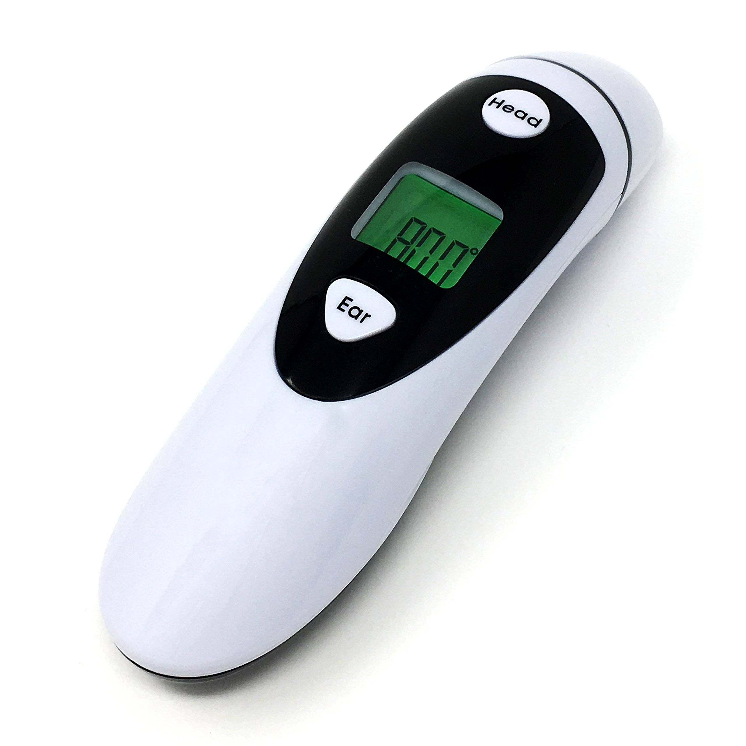 Champion IR - Medical Ear Thermometer With Forehead Function - Infared Technology & LCD Screen For Improved Accuracy