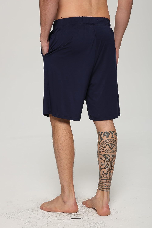 Latuza Mens Sleep Shorts Loose Lounge Shorts