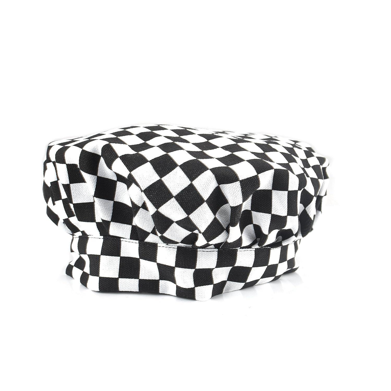 Opromo Adultftsコットンキャンバスアジャスタブルシェフハット - - さまざまな色 cm 60.96 cm B07P9CSPXJ 白黒碁盤 B07P9CSPXJ 白黒碁盤|96, anuenue:88d4eda5 --- rodebyjakt.se