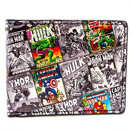 Cartera de Marvel Comics retro Multicolor