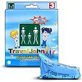 Travel John jetables urinoir–Disponible pour hommes, femmes et enfants