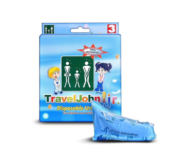 Able Travel John– Bolsa-orinal para viajes Rgi Inc 66918B