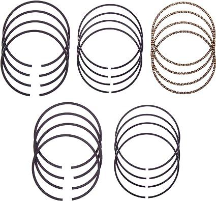 Hastings 4414020 4-Cylinder Piston Ring Set