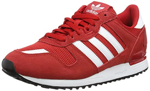 Adidas ZX 700, Men's Sports Shoes, Red (Scarlet/ftwr White/core