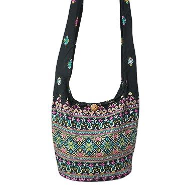 Amazon.com: Hippie Hobo Bag Sling Bag Crossbody Shoulder Messenger ...