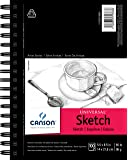 """Canson Artist Series Universal Sketch Pad, 5.5"""" x 8.5"""", Side Wire Bound, 100 Sheets (100510850)"""