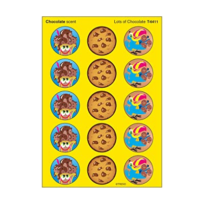 Trend Enterprises Lots of Chocolate/Chocolate Stinky Stickers (60 Piece), Multi: Toys & Games