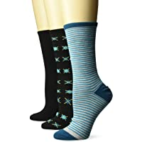 Hanes Women's ComfortFit Lightweight Crew Socks 3-Pack