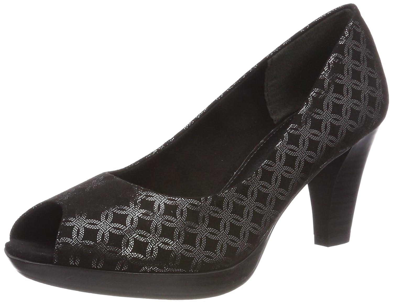 MARCO TOZZI 29302, Zapatos de tacón con Punta Abierta para Mujer