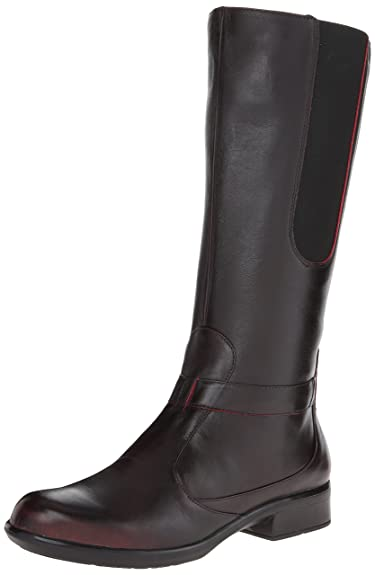 Naot Women's Viento Boot, Volcanic Red Leather, 35 EU/4.5-5 M