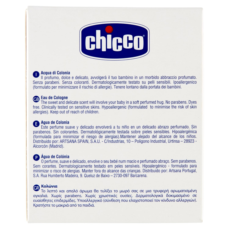 Chicco Baby Moments - Agua de colonia, 100 ml