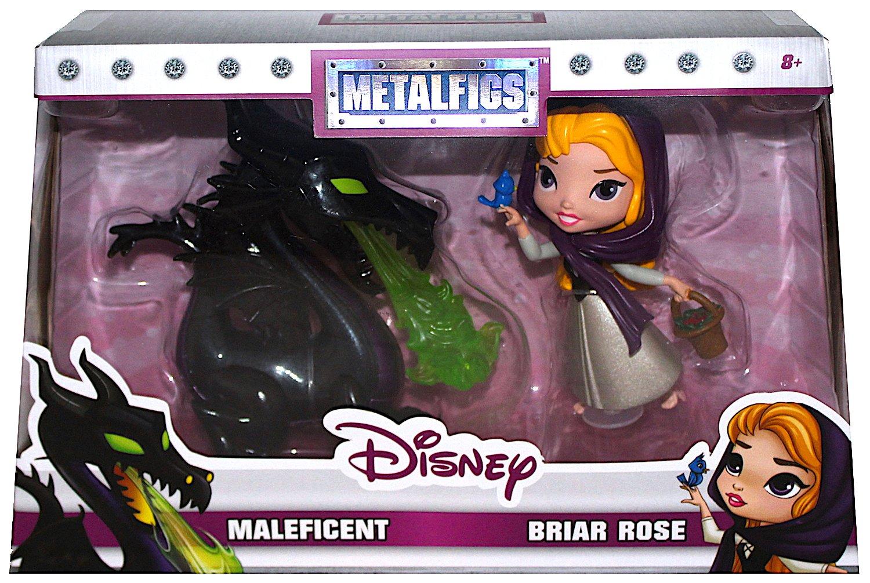 Exclusive Diecast Metalfigs 4 Inch Figure D3 Disney Maleficent /& Briar Rose