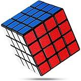 FAVNIC 立体パズル 4x4 滑り止め【6面完成攻略書付き】競技用 ポップ防止 知育玩具