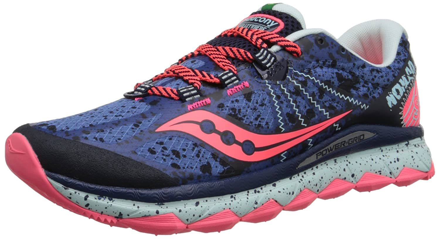 Saucony Women's Nomad TR Trail Running Shoe B00PJ8UFDU 9 B(M) US|Blue/Navy
