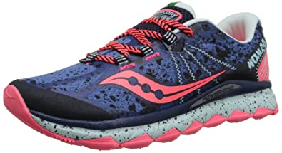 Saucony Women's Nomad TR Trail Running Shoe, Blue/Navy, ...