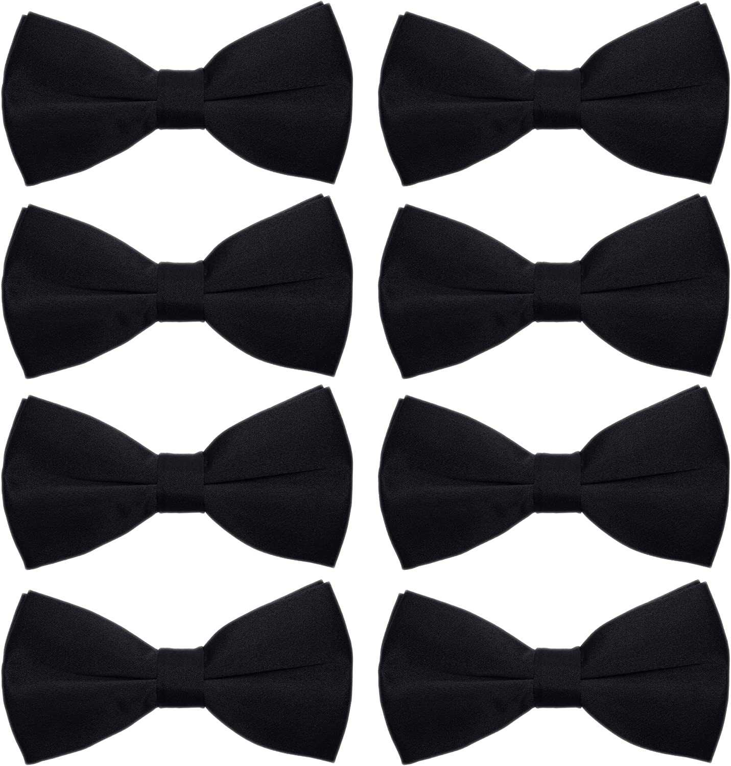 New Satin Formal Boys Tuxedo Bowtie Suit Bow Tie Many Colors Wedding Party USA