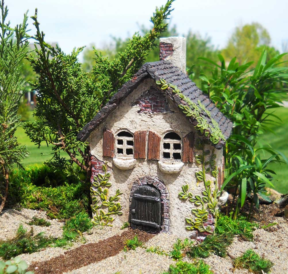 Miniature Fairy Garden Ivy House by MIGO (Image #5)