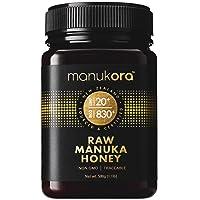Manukora UMF 20+/MGO 830+ Raw Mānuka Honey (500g/1.1lb) Authentic Non-GMO New Zealand...