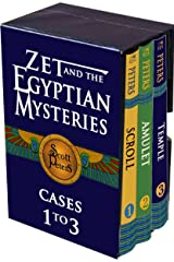 3-in-1: Zet and the Egyptian Mystery Cases: Adventure Books For Kids 9-12 Kindle Edition