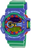 Casio G-Shock Blue Dial Turquoise Resin Quartz Men's Watch GA400A-2A