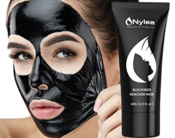Amazon blackhead remover mask removes blackheads blackhead remover mask removes blackheads purifying quality black peel off charcoal mask solutioingenieria Images