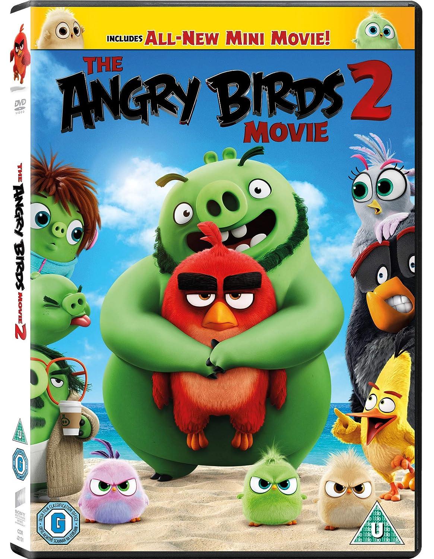 Amazon Com The Angry Birds Movie 2 Dvd 2019 Movies Tv
