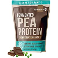 2.11 LB 100% Pea Protein Powder Fermented Chocolate -North American Sourced Peas - Plant Protein Powder (Non-GMO, Gluten…