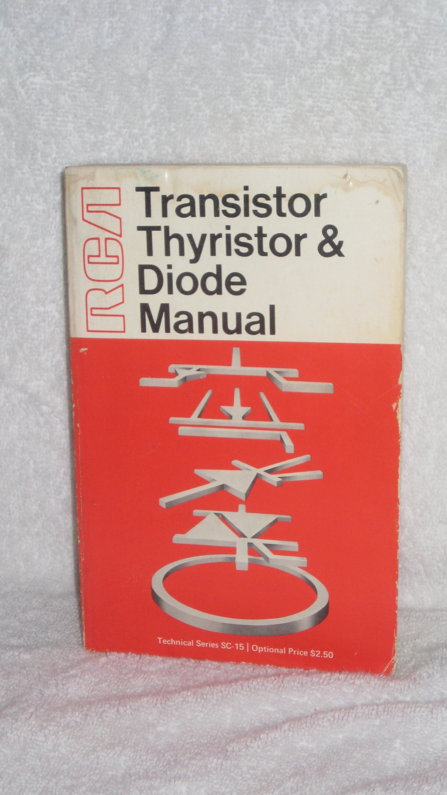 rca transistor thyristor diode manual solid state division rca rh amazon com Old RCA Manuals Old RCA Manuals