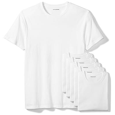 Essentials Men's 6-Pack Crewneck Undershirts: Clothing