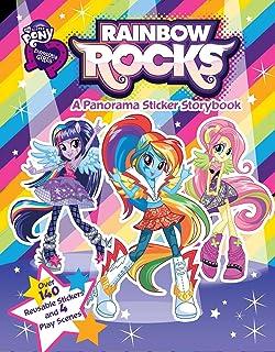 My Little Pony Equestria Girls Rainbow Rocks Panorama Sticker Storybook