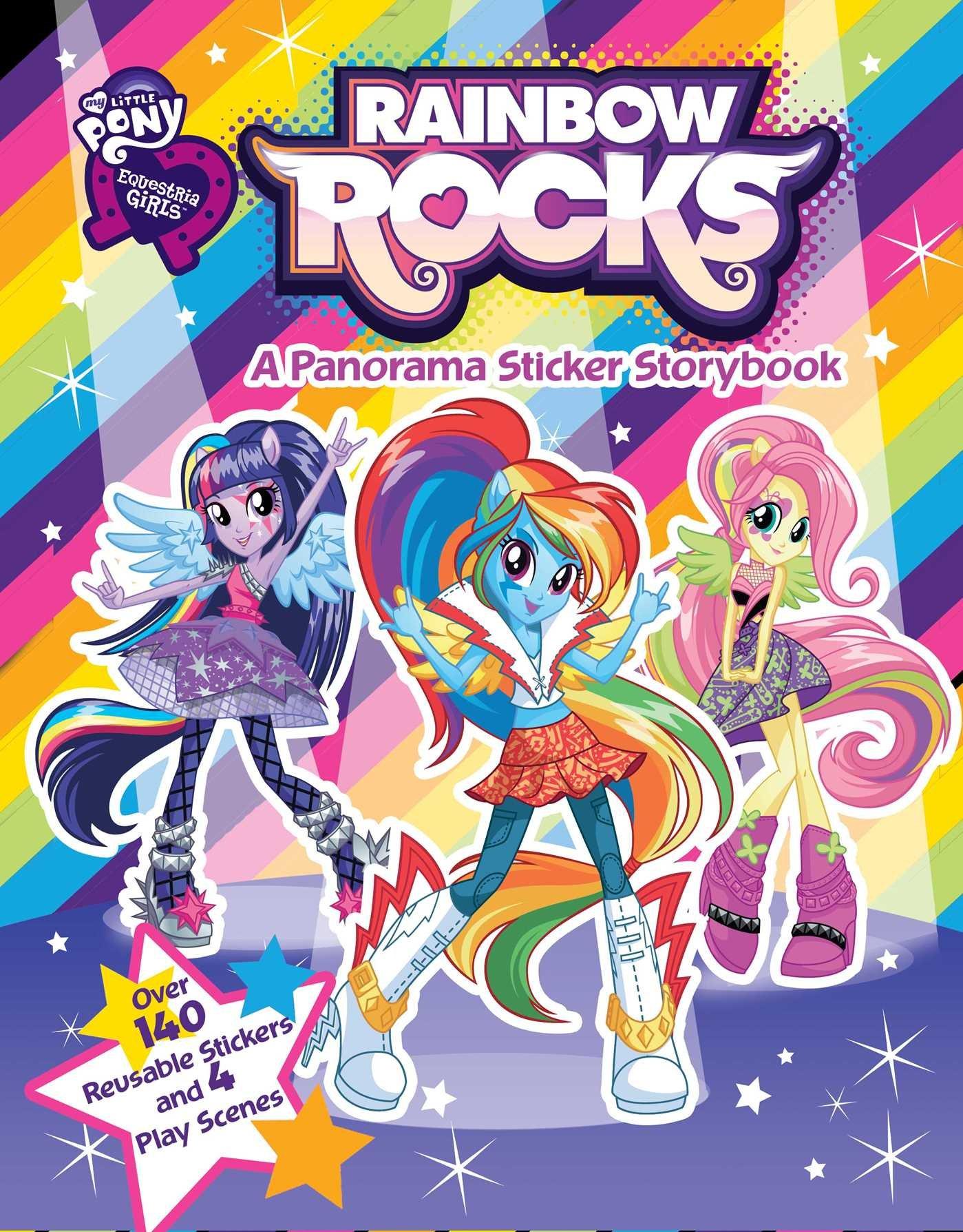 - My Little Pony Equestria Girls: Rainbow Rocks (3) (Panorama
