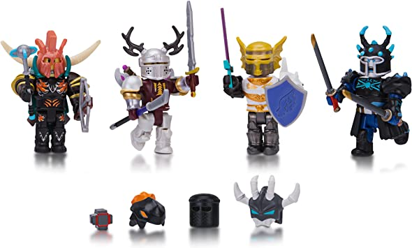 Roblox Days Of Knight Mix Match Set - roblox plush set of 4 make your own