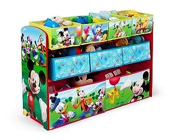 Amazon.com: Delta Children Disney Mickey Mouse Deluxe Multi Bin
