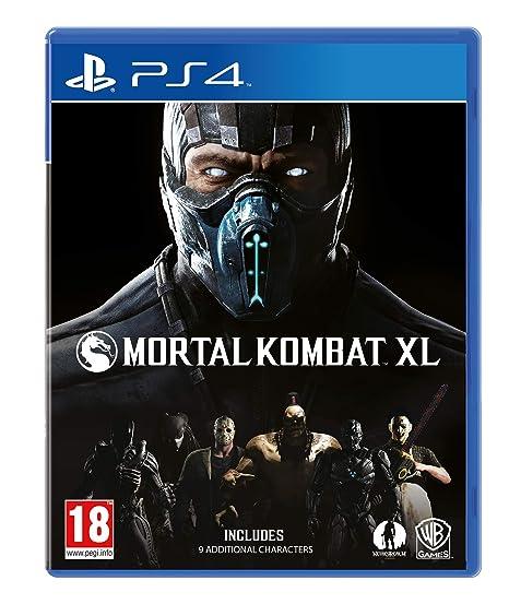 mortal kombat xl komplete edition ps4