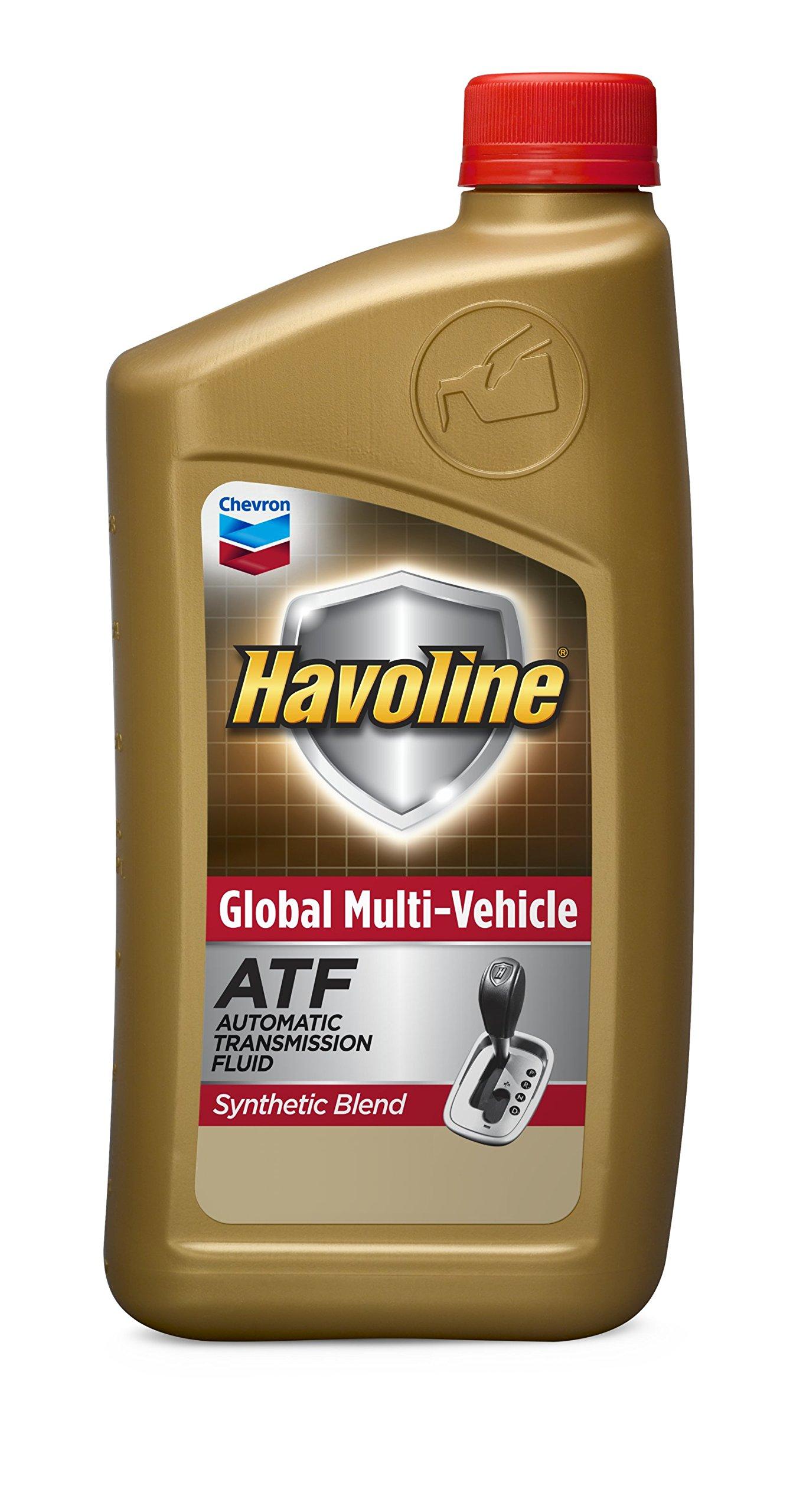 HAVOLINE 226537482-6pk Global Multi-Vehicle ATF-1 Quart (Pack of 6), 192. Fluid_Ounces, 12 Pack by HAVOLINE