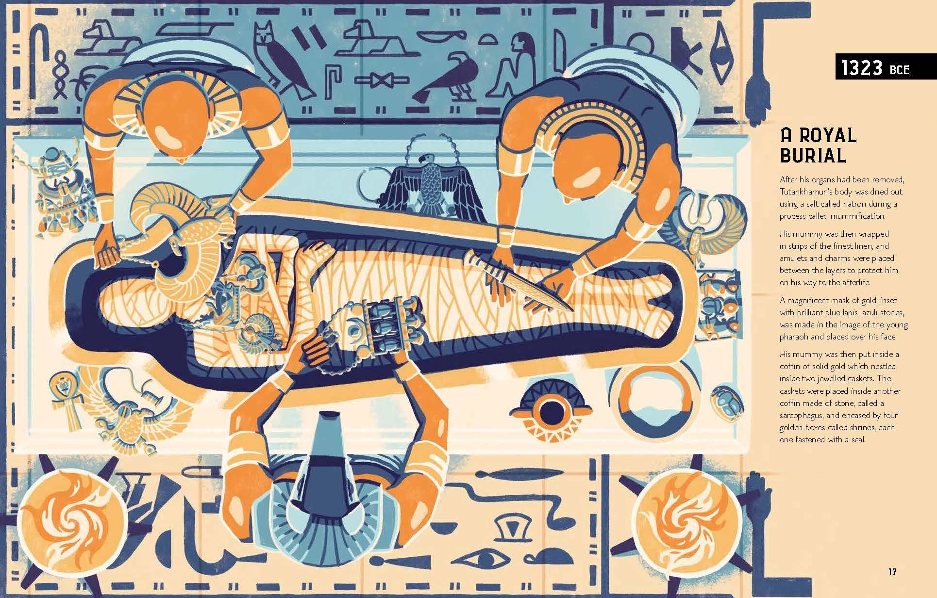 47d553fcca54 The Legend of Tutankhamun  Amazon.co.uk  Sally Jane Morgan