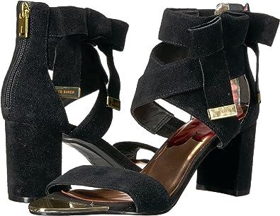 2771e475c9335 Ted Baker Women's Noxen Black Suede 6 M US: Amazon.co.uk: Shoes & Bags